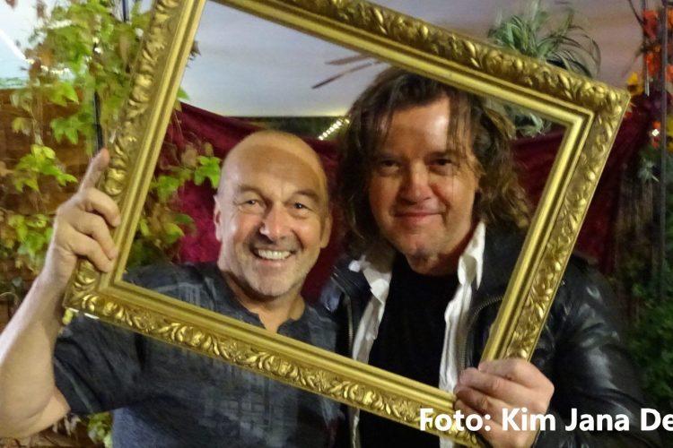 EX-PUR-Drummer Roland Bless und Hans Derer - Foto Jana Derer